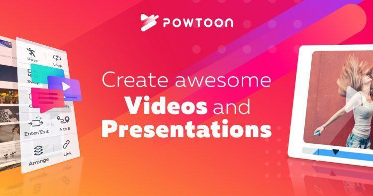 Website Tạo Video Powtoon